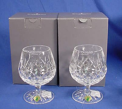 Best reviews of waterford crystal lismore brandy balloon glass pair karldqp - Waterford cognac glasses ...